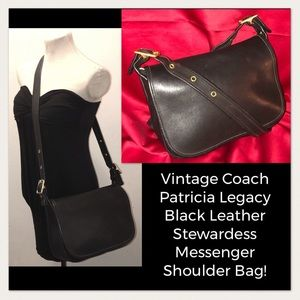 VTG Coach Patricia Legacy Stewardess Messenger Bag